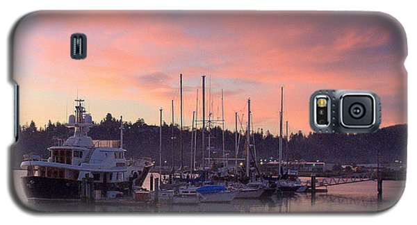Boardwalk Sunrise Galaxy S5 Case