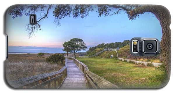 Boardwalk To History Galaxy S5 Case by Phil Mancuso