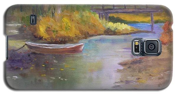 Boat And Bridge Galaxy S5 Case