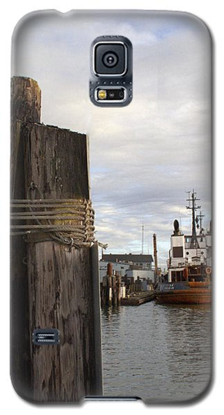 Galaxy S5 Case featuring the photograph View From The Pilings by Suzy Piatt