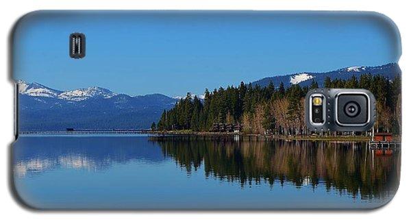 Boat House Lake Tahoe Galaxy S5 Case