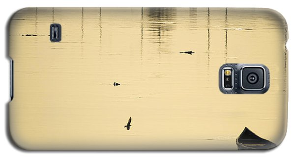 Boat In The Water Galaxy S5 Case