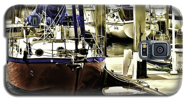 Boat Galaxy S5 Case by Muhie Kanawati