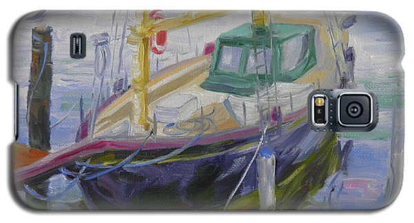Boat Of Bountiful Color Galaxy S5 Case