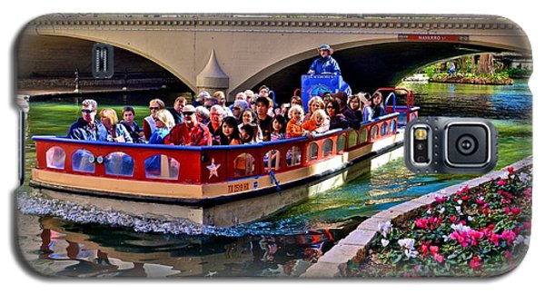 Boat Ride At The Riverwalk Galaxy S5 Case
