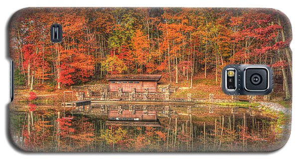 Boathouse At Boley Lake Galaxy S5 Case