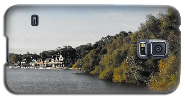 Galaxy S5 Case featuring the photograph Boathouse II by Photographic Arts And Design Studio