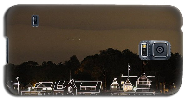 Galaxy S5 Case featuring the photograph Boathouse Row by Christopher Woods