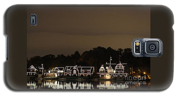 Boathouse Row Galaxy S5 Case by Christopher Woods