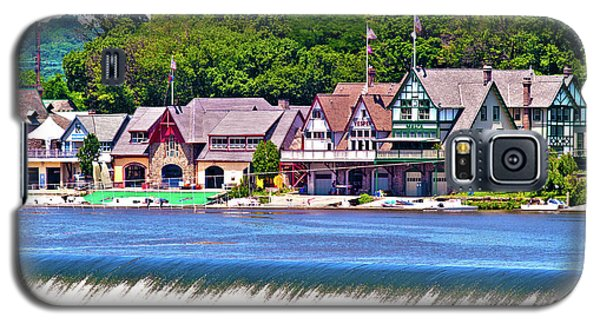 Boathouse Row - Hdr Galaxy S5 Case by Lou Ford