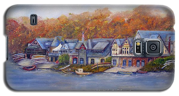 Boathouse Row In Philadelphia Galaxy S5 Case