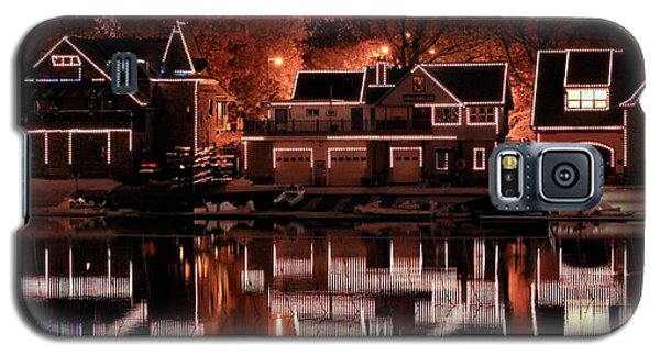 Boathouse Row Reflection Galaxy S5 Case