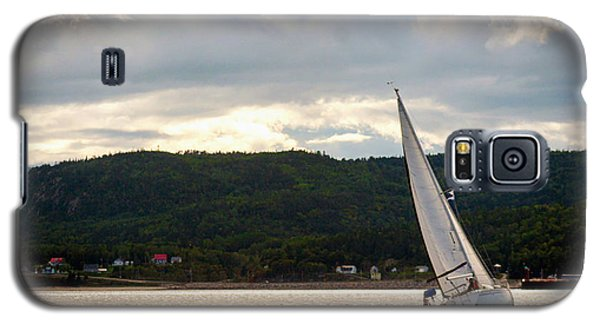 Boating In Tadoussac Galaxy S5 Case