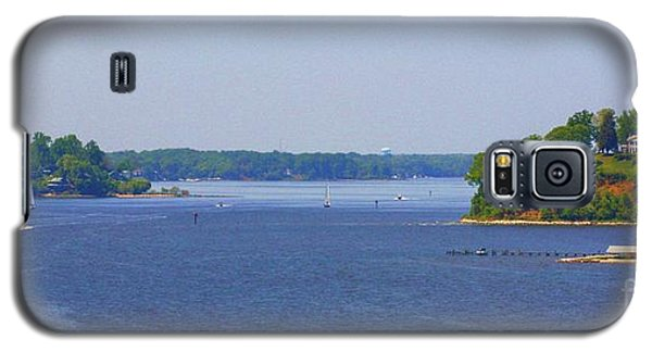 Boating On The Severn River Galaxy S5 Case by Patti Whitten