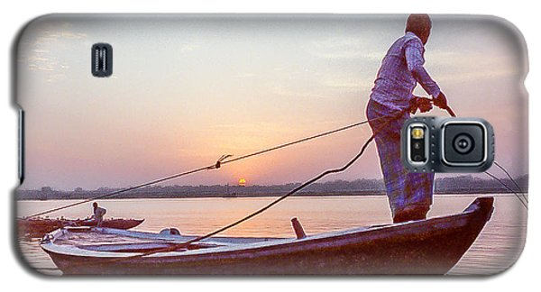 Boatman On The Ganges Galaxy S5 Case