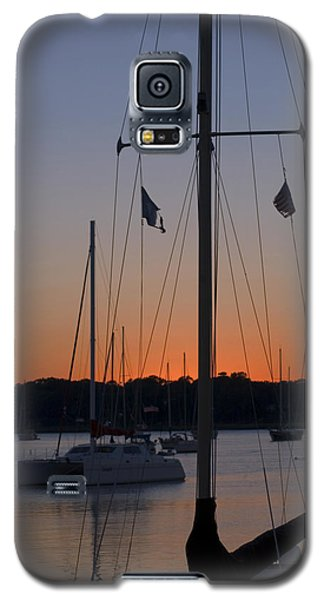 Boats At Beaufort Galaxy S5 Case
