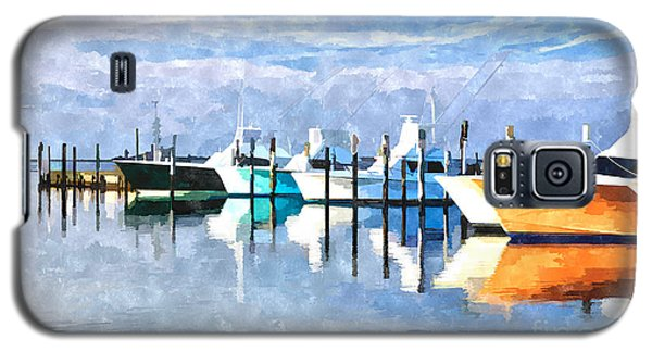 Boats At Oregon Inlet Outer Banks IIi Galaxy S5 Case