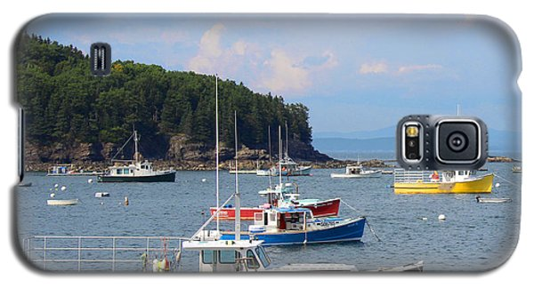 Boats In Bar Harbor Galaxy S5 Case