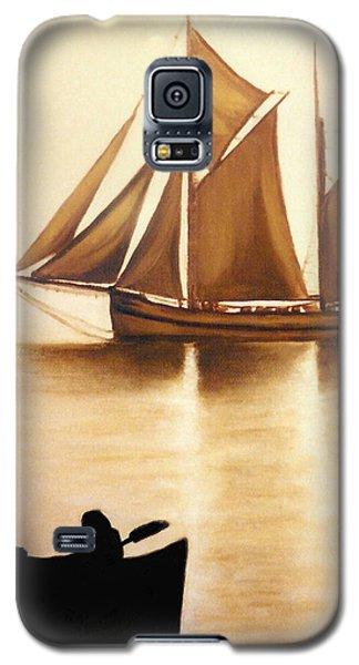 Boats In Sun Light Galaxy S5 Case