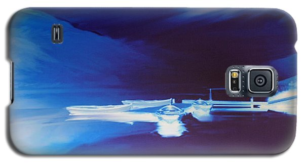 Boats On Bala Galaxy S5 Case by Neil Kinsey Fagan