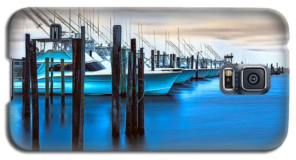 Boats On Glass II - Outer Banks Galaxy S5 Case by Dan Carmichael