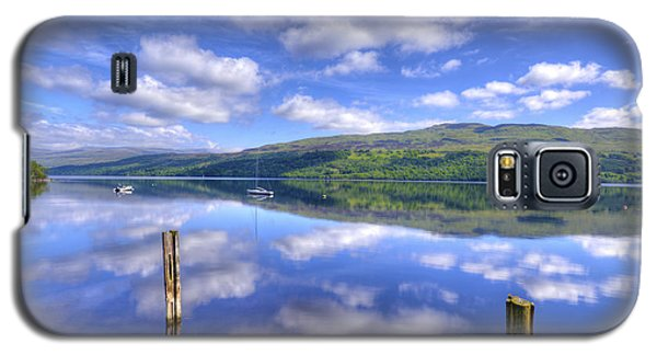 Boats On Loch Tay Galaxy S5 Case
