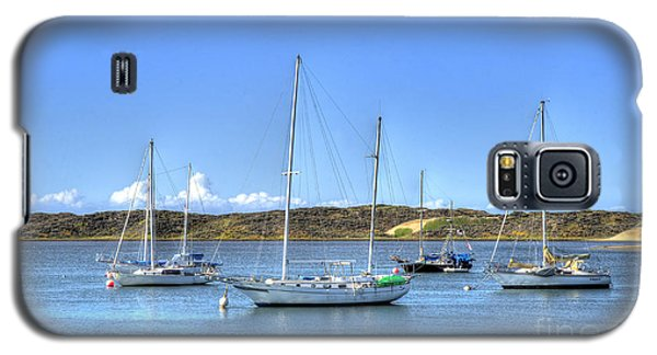 Boats On The Bay Galaxy S5 Case