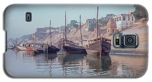 Boats On The Ganges River Galaxy S5 Case