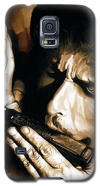 Bob Dylan Artwork 2 Galaxy S5 Case by Sheraz A