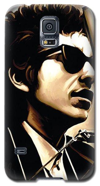Bob Dylan Artwork 3 Galaxy S5 Case by Sheraz A