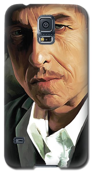 Bob Dylan Artwork Galaxy S5 Case by Sheraz A