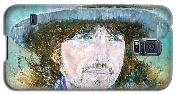 Bob Dylan Oil Portrait Galaxy S5 Case