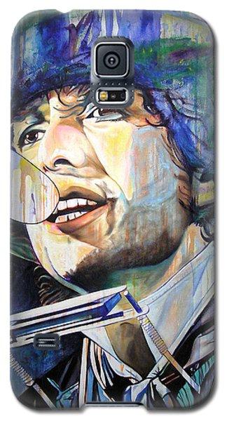 Bob Dylan Galaxy S5 Case - Bob Dylan Tangled Up In Blue by Joshua Morton