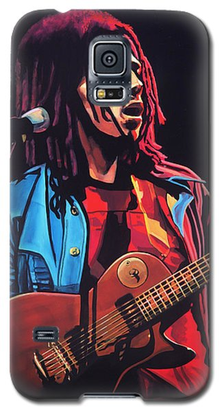 Bob Marley 2 Galaxy S5 Case by Paul Meijering