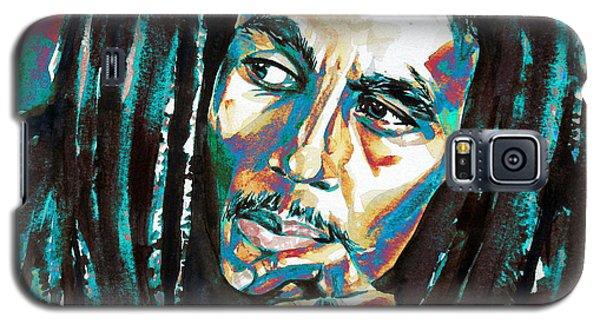 Bob Marley Watercolor Portrait.7 Galaxy S5 Case
