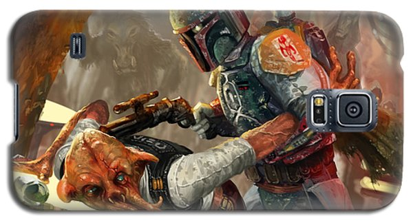 Boba Fett - Star Wars The Card Game Galaxy S5 Case