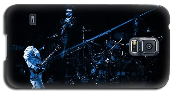 Boc #4 Lasers In Blue Galaxy S5 Case