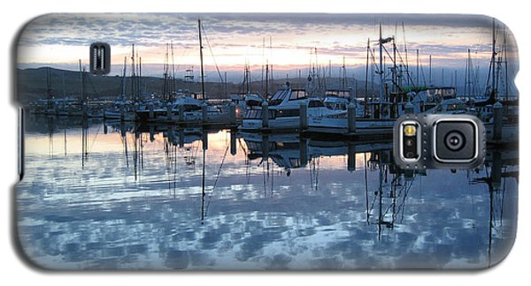 Galaxy S5 Case featuring the drawing Bodega Bay Sunrise by Dianne Levy
