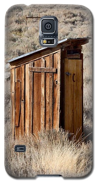 Bodie Outhouse Galaxy S5 Case by Art Block Collections