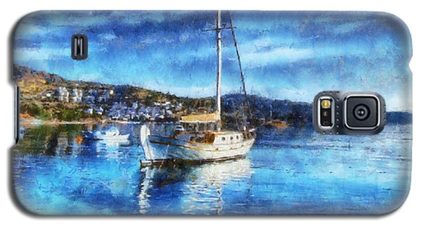 Bodrum Bay In Turkey Galaxy S5 Case