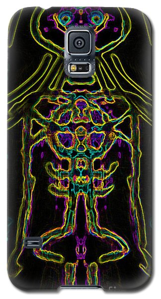 Galaxy S5 Case featuring the digital art Bodywire Variation 10 by Devin  Cogger