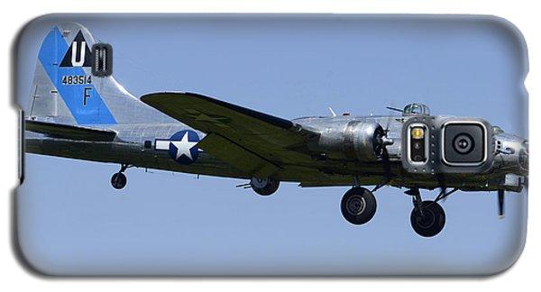 Boeing B-17g Flying Fortress Sentimental Journey N9323z Falcon Field April 28 2013 Galaxy S5 Case by Brian Lockett