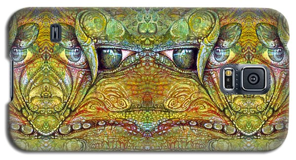 Galaxy S5 Case featuring the digital art Bogomil Variation 12 by Otto Rapp