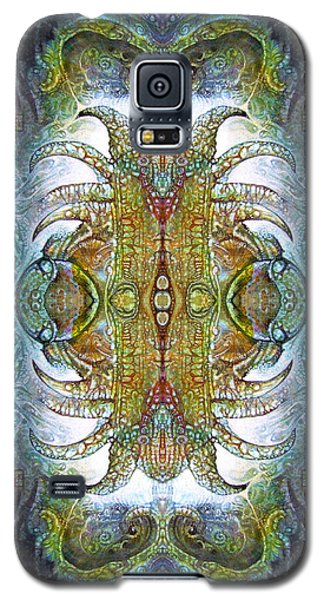 Galaxy S5 Case featuring the digital art Bogomil Variation 14 - Otto Rapp And Michael Wolik by Otto Rapp