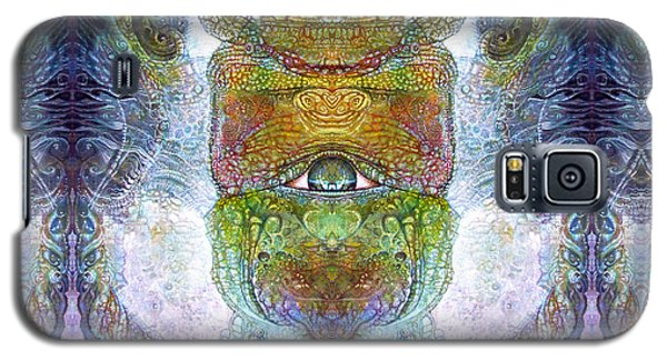 Galaxy S5 Case featuring the digital art Bogomil Variation 15 by Otto Rapp