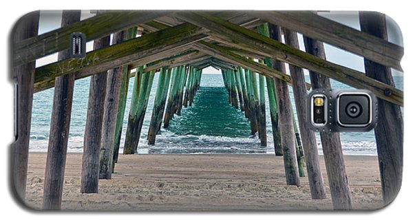 Bogue Banks Fishing Pier Galaxy S5 Case by Sandi OReilly