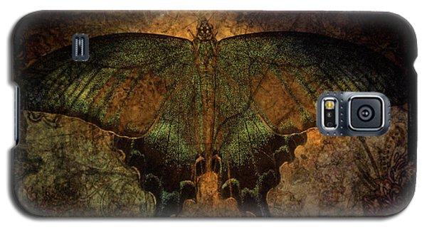 Bohemia Butterfly - Art Nouveau Galaxy S5 Case by Absinthe Art By Michelle LeAnn Scott