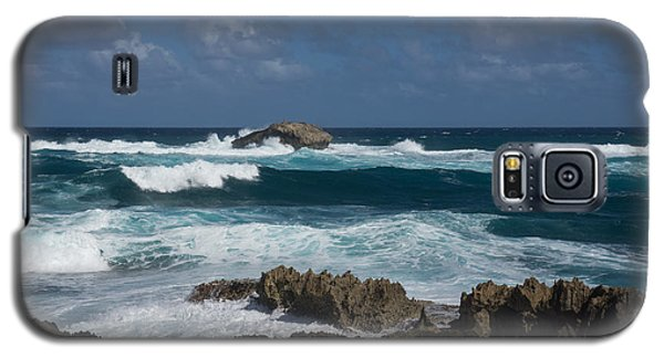 Boiling The Ocean At Laie Point - North Shore - Oahu - Hawaii Galaxy S5 Case