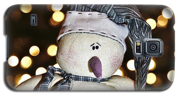 Bokeh Snowman Galaxy S5 Case