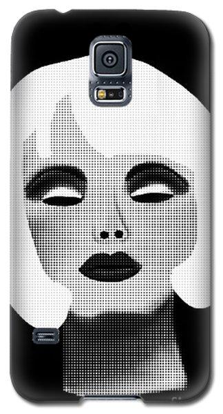 Bold Blonde Beauty Galaxy S5 Case